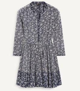 maje-robe-dentelle-bleu-blogmode-seralynepointcom