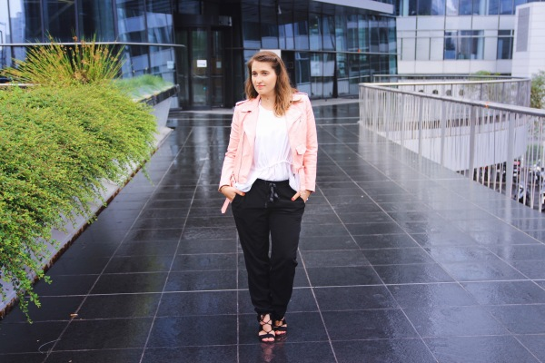 paris-ladefense-blog-mode-seralynepointcom-perfecto-zara-rose