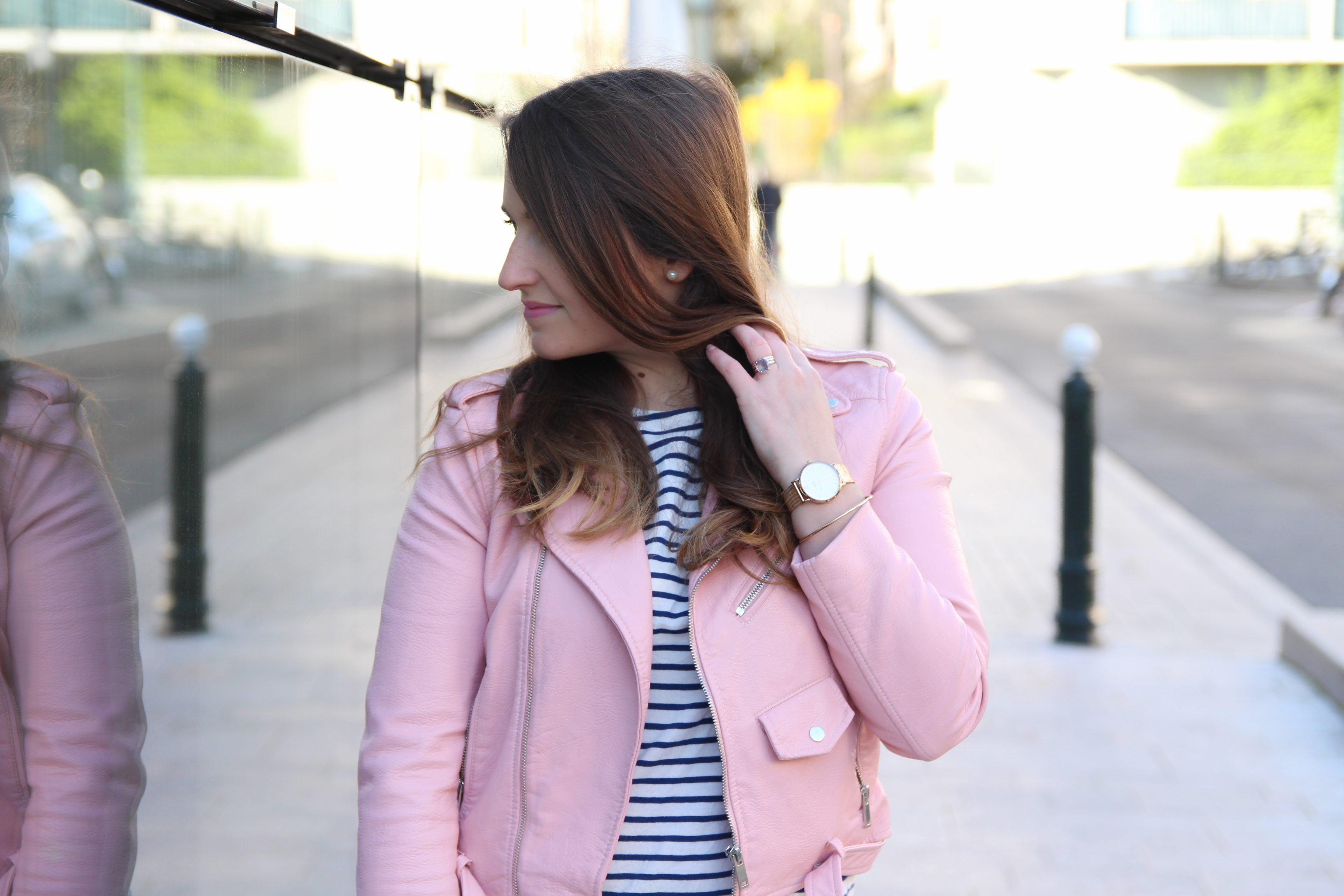 perfecto-rose-zara-marinniere-denim-influencer-fashion-ottd-look-seralynepointcom-paris-IMG_7019